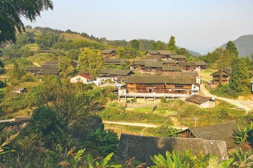 山美林绿座寨村